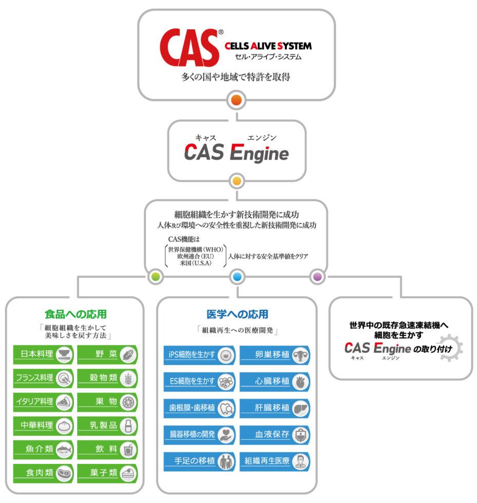 CASの応用分野